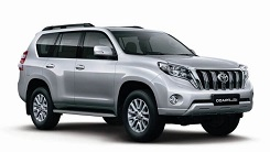rent a Toyota PRADO Marrakech